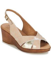 Pitillos - Mani Women's Sandals In Beige - Lyst