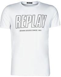 Replay T-Shirt M3395-2660 - Bianco