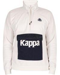 Kappa Veste Veste slim à col authentique If - Blanc