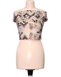 Miss Selfridge Top manches courtes - Taille 34 Blouses - Multicolore