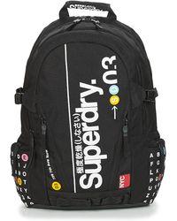 Superdry Rugzak Nyc Tarp Backpack - Zwart