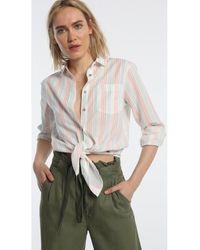 Lois Camisa JEANS - Camisa Nudo -Brita-Jumai - Multicolor