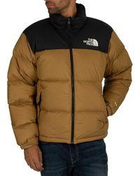 86650b912 Men's 1996 Retro Nuptse Puffer Jacket, Brown Men's Jacket In Brown