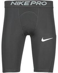 Nike Short M PRO SHORT LONG - Negro
