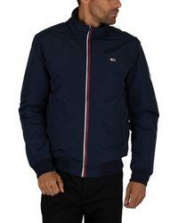 a5e33c19a4192 Men's Essential Padded Jacket, Blue Men's Jacket In Blue