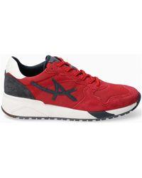 Mephisto Lage Sneakers SPEED - Rouge