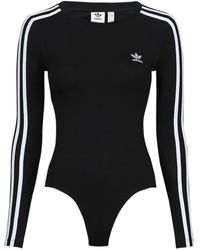 adidas Body's Body Suit - Zwart