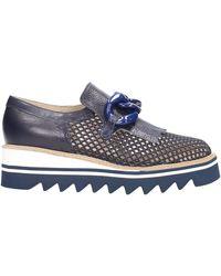 Jeannot Slip on blu 76271 Chaussures - Bleu