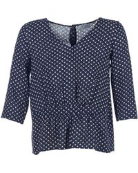 1e16a423077 Casual Attitude - Hola Women s Blouse In Blue - Lyst