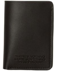 Volcom The Classic Leather Card Portefeuille - Noir