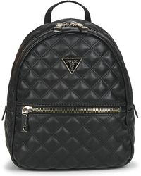 Guess Mochila CESSILY BACKPACK - Negro