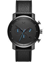 MVMT MC02-GUBL, Quartz, 40mm, 5ATM Montre - Noir