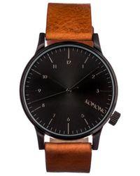 Komono Horloge - Winston Regal Cognac - Zwart