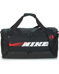 Nike Sporttas Brsla M Duff-9.0 Px Gfx S - Zwart