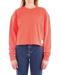 Calvin Klein J20J211599 Sweat-shirt - Rouge