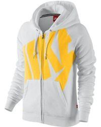 2b7b43d20e Nike Sportswear Gym 854961 032 Women s Sweatshirt In Multicolour in ...