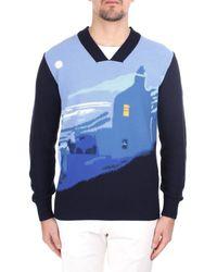 Ballantyne S2P051 7C030 93786 Pull - Bleu