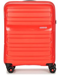 American Tourister Sunside 55cm 4r Hard Suitcase - Red