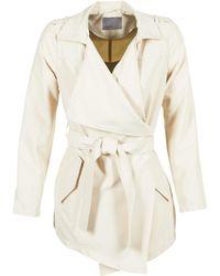 Vero Moda - Lene Serena Women's Trench Coat In Beige - Lyst