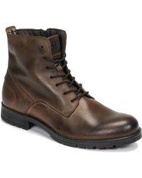 Jack & Jones Laarzen Jfw Orca Leather - Bruin