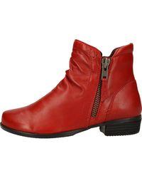 Josef Seibel Bottines Boots - Rouge