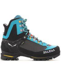 Salewa Ws Raven 2 Gtx Women's Walking Boots In Black