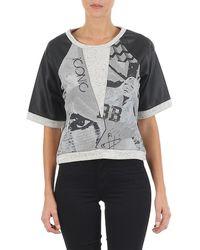 Brigitte Bardot - Bb43025 Women's Sweatshirt In Grey - Lyst