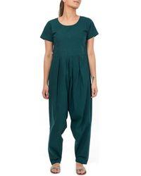 Fantazia Combinaison pantalon sarouel chic Thya Combinaisons - Bleu