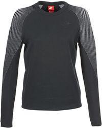 Nike Sweater Tech Fleece Crew - Zwart