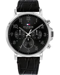 Tommy Hilfiger Horloge 1710381 - Zwart