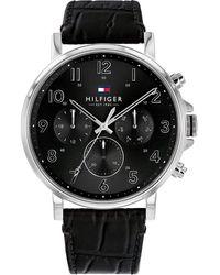 Tommy Hilfiger Reloj de Pulsera 1710383 - Negro