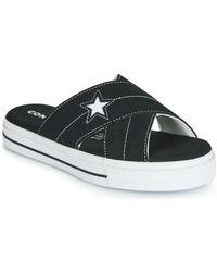 Converse ONE STAR SANDAL SANDALISM SLIP Mules - Noir