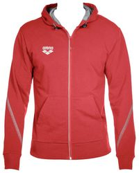 Arena Sweater Tl Hooded Jacket - Rood