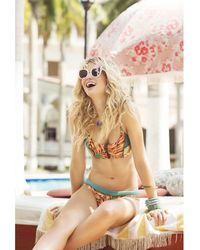 Maaji - Bikini Top Multicolour - Peace Out Garden Women's In Orange - Lyst
