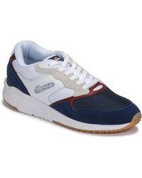 Ellesse Lage Sneakers Nyc84 Sued Am - Blauw