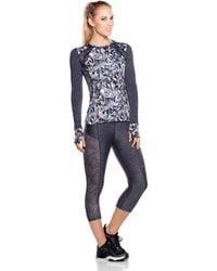 Maaji - Fitness Top Running Multicolour Grey - Enchanted Spirit Women's In Grey - Lyst