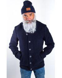 AMSTERDENIM Jacket - DOV - Navy Blue Manteau - Bleu