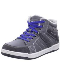 S.oliver - 554611233205 Women's Shoes (high-top Trainers) In Grey - Lyst