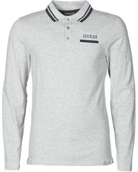Guess LIVE IS POLO - Gris