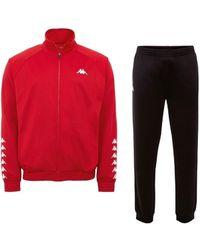 Kappa Till Training Suit Ensembles de survêtement - Rouge