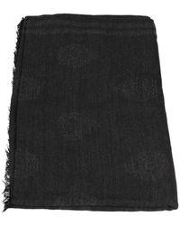 Guess Sjaals Am8562wol03 - Zwart