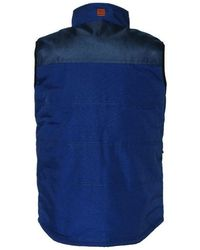 Caterpillar Mens Ag Vestgilet Jacket - Blue