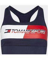 Tommy Hilfiger S10S100299 RACERBACK SPORT - Azul