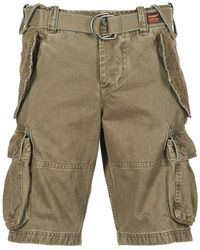 Superdry Shorts CORE CARGO HEAVY SHORT - Grün
