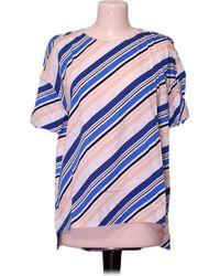 Gerard Darel Top manches courtes - XL Blouses - Bleu