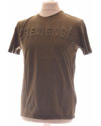 Chevignon T-shirt Manches Courtes 38 - T2 - M T-shirt - Vert
