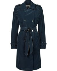 Guess Trenchcoats SUSAN TRENCH - Blau