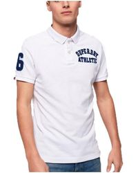 Superdry - Polo Superstat pique - Lyst
