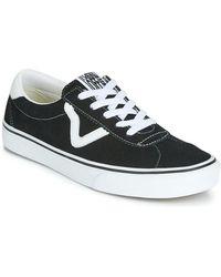 Vans Lage Sneakers Sport - Zwart