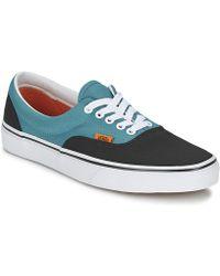 Vans - Era Women's Shoes (trainers) In Black - Lyst
